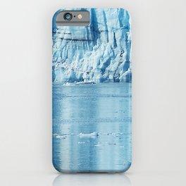 Alaskan Blue Ice Water Reflections in Glacier Bay iPhone Case