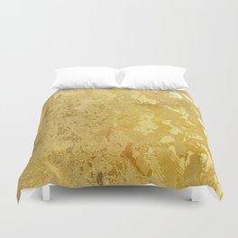 golden vintage Duvet Cover