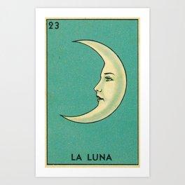 La Luna Card Kunstdrucke