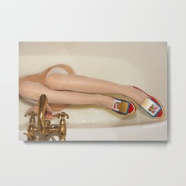 The queen is thirsty. Really, really thirsty Metal Print