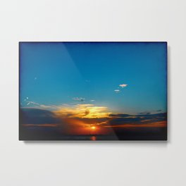 Sunset 071318 Abilene, Texas Metal Print