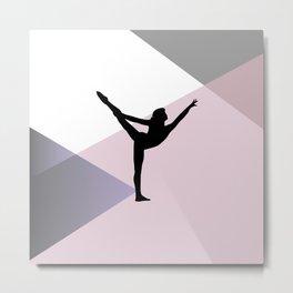 Gymnast Metal Print