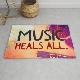 Music Heals All Rug