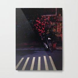 Lane, Taipei, Taiwan Metal Print