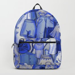 BLUE CLOTHES Backpack