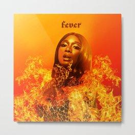 "Megan Thee Stallion ""Fever"" Art Metal Print"