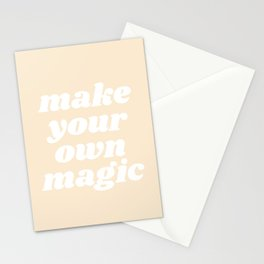make your own magic Stationery Cards