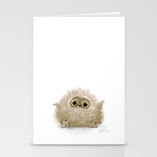 Baby owl by sillybeast