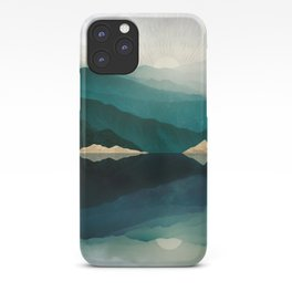 Waters Edge Reflection iPhone Case