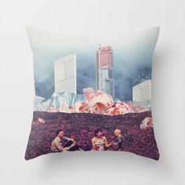 Struggling Not to Forget Throw Pillow