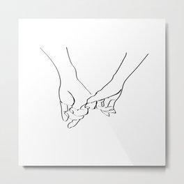 Forever together Metal Print
