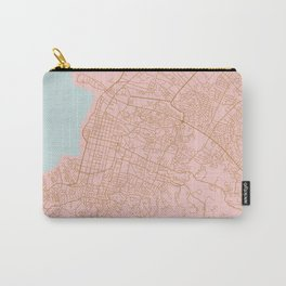 Pink Port au Prince map Carry-All Pouch