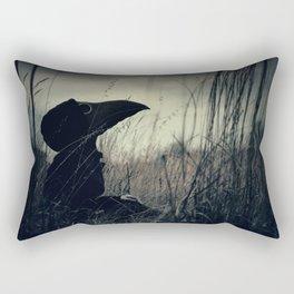 Thoughtful Plague Rectangular Pillow