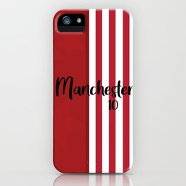 Manchester 10 iPhone Case