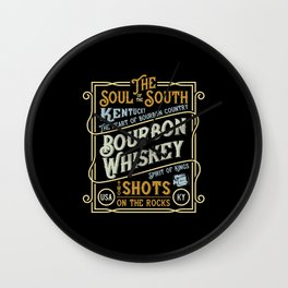 Kentucky - The Soul of The South Wall Clock