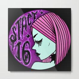 Stacy 16 Legacy Logo Metal Print