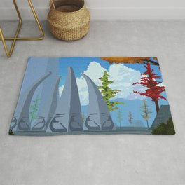 The Spires Rug