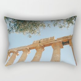 The Ancient Agrigento Temple Rectangular Pillow