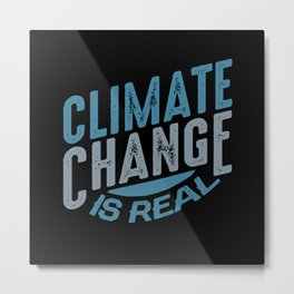 Environmental Protection Climate Change Metal Print