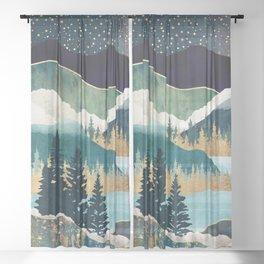 Star Lake Sheer Curtain