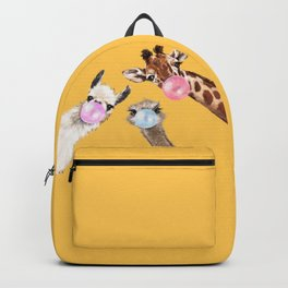 Bubble Gum Gang in Yellow Backpack