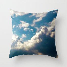Cloud Pillows Throw Pillow