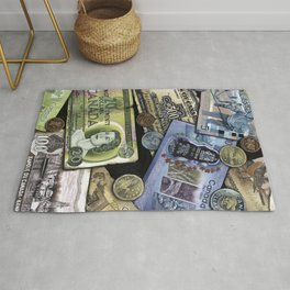 Birthday Money Rug