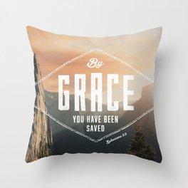 Ephesians 2:5 Throw Pillow