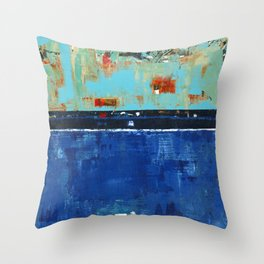 Dress Blues Throw Pillow