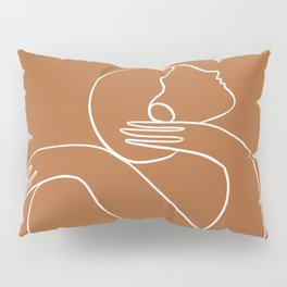 You are doing great (rust) Pillow Sham