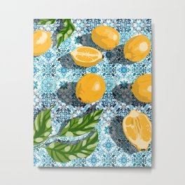 Sweet just isn't as sweet without the sour #painting Metal Print