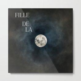 Daughter of the moon Metal Print