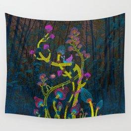 Magic mushrooms Wall Tapestry