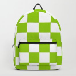 Damier 3 green and white Backpack