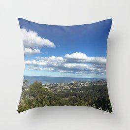 Bulli Lookout in Wollongong NSW Australia Throw Pillow