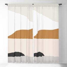 Minimal Art Landscape 2 Blackout Curtain