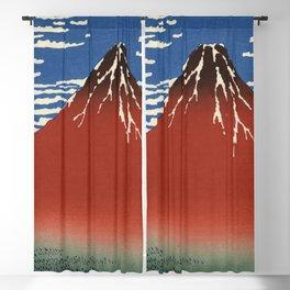 South Wind, Clear Sky (Gaifū kaisei or 凱風快晴) Blackout Curtain