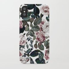 Vintage garden iPhone X Slim Case