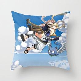 Falling to you Throw Pillow