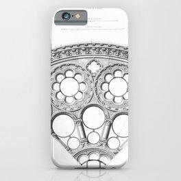 Notre Dame Rose Window Facade Architecture iPhone Case