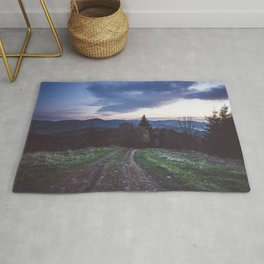 Go where you feel the most alive Rug