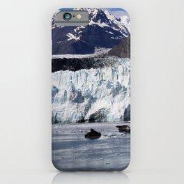 Alaska Glaciers Too iPhone Case