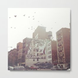 Birds Over Soho Metal Print