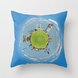drobeta turnu severin tiny planet Throw Pillow