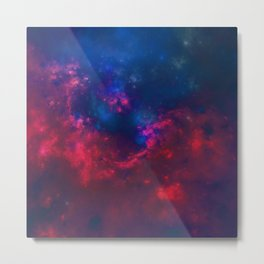 Stormy Weather - Variations Of Light And Color Metal Print