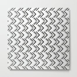 Black Arrow Tribal Canvas #society6 #decor #buyart #artprint Metal Print