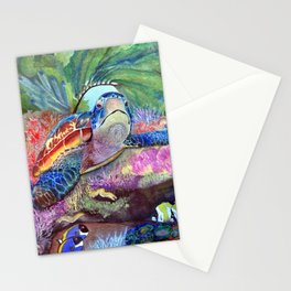 Journey Under the Sea by Maureen Donovan Stationery Cards