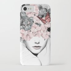WOMAN WITH FLOWERS 10 iPhone 8 Slim Case