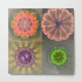 Aetiogenic Actuality Flower  ID:16165-013140-25800 Metal Print