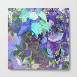Colorful Abstract Garden 1657 Metal Print